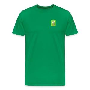 420 mean green - Men's Premium T-Shirt