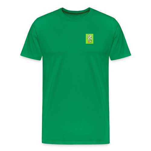 420 mean green - Men's Premium T-Shirt