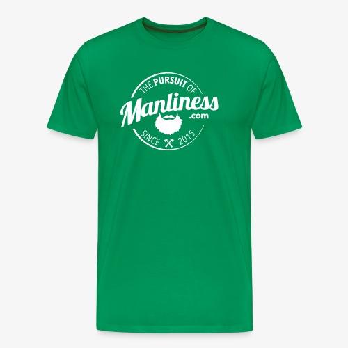 PoM Logo Round - Men's Premium T-Shirt