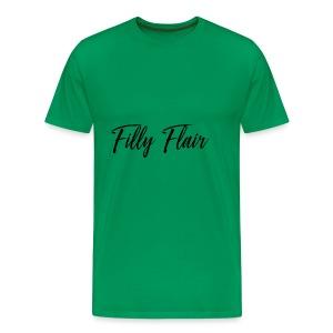 fillyflair blk - Men's Premium T-Shirt