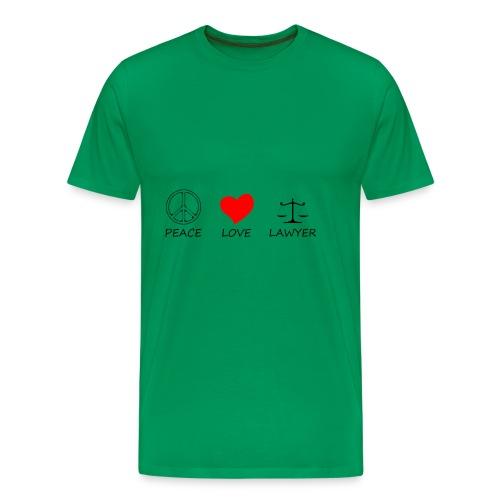 peace love40 - Men's Premium T-Shirt