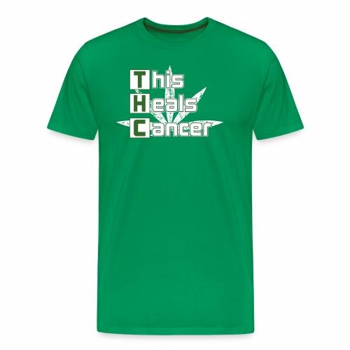 THC This Heals Cancer - Men's Premium T-Shirt
