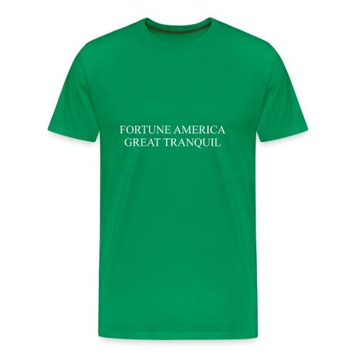 Fortune America Great Tranquil - Men's Premium T-Shirt
