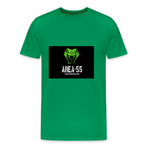 final_Area55_vertical1 - Men's Premium T-Shirt