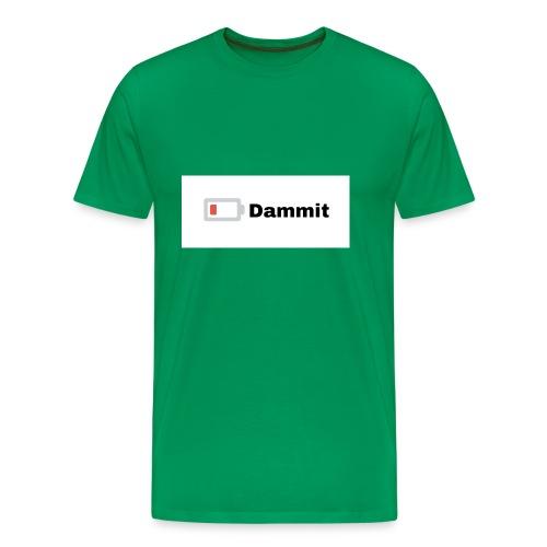 Low Battery Phone Case - Men's Premium T-Shirt