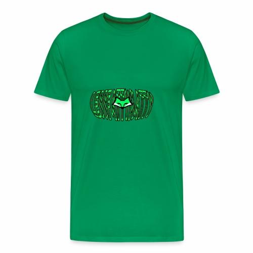 LFM Letter with FOX - Men's Premium T-Shirt