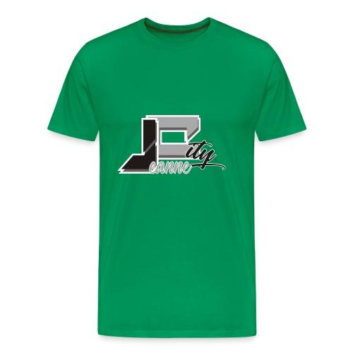 JeanneCityLogoOfficialBnW - Men's Premium T-Shirt