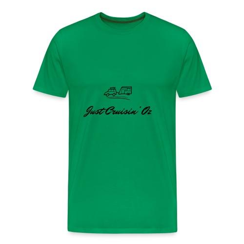 dark logo transparent 2x - Men's Premium T-Shirt