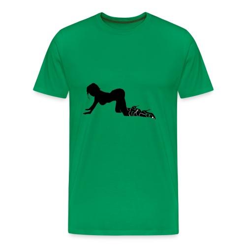 Sexy Spiked Girl - Men's Premium T-Shirt