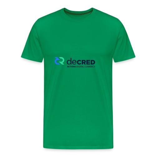 decred - Men's Premium T-Shirt