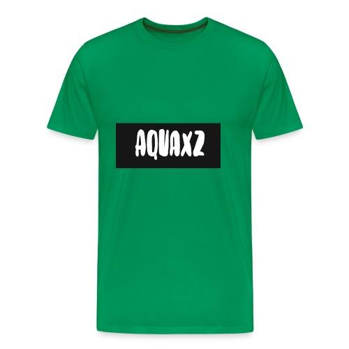 aquashirtlogo - Men's Premium T-Shirt