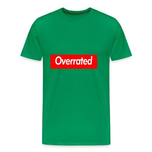 overrated - Men's Premium T-Shirt