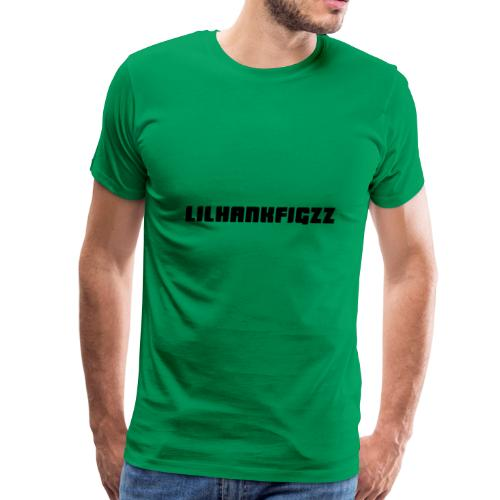 LilHankFigzz Black Lowrider Font - Men's Premium T-Shirt