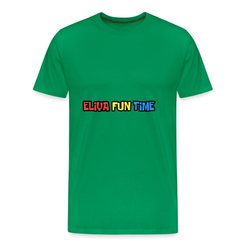 Eliya Fun Time Label - Men's Premium T-Shirt