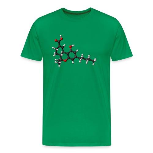 THC 3D balls - Men's Premium T-Shirt