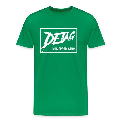DETAG Logo transparent - Men's Premium T-Shirt