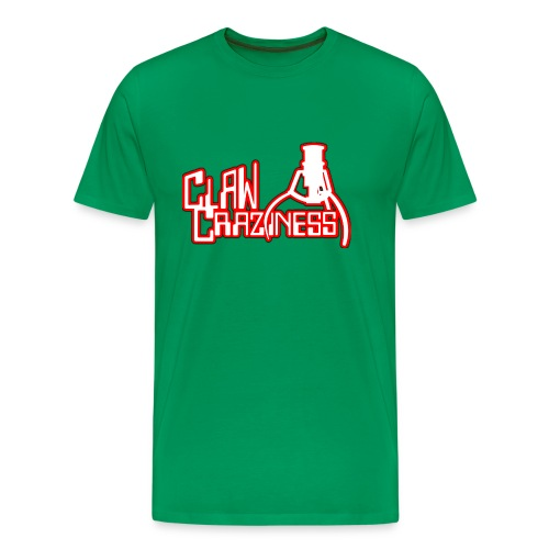 Claw Crazy - Men's Premium T-Shirt