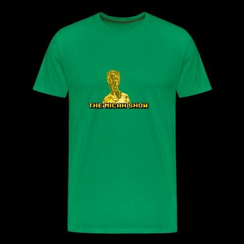 Limited Edition Gold Micah Show Logo - Men's Premium T-Shirt