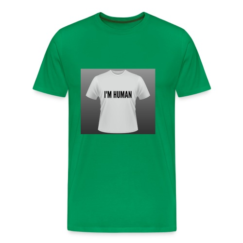 i m human - Men's Premium T-Shirt