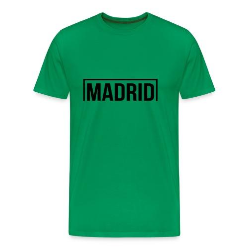 Goal Madrid Black - Men's Premium T-Shirt
