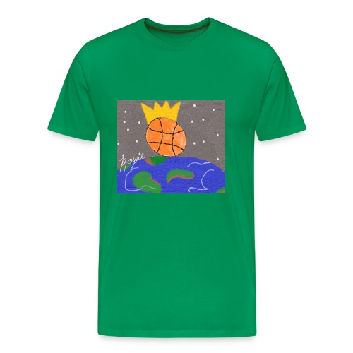 royal baller in space - Men's Premium T-Shirt