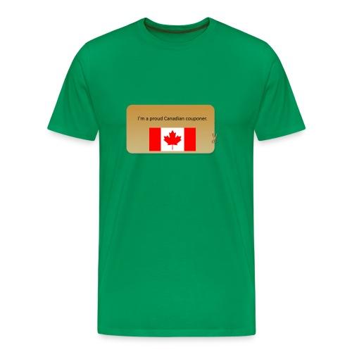 Canadian Couponer - Men's Premium T-Shirt
