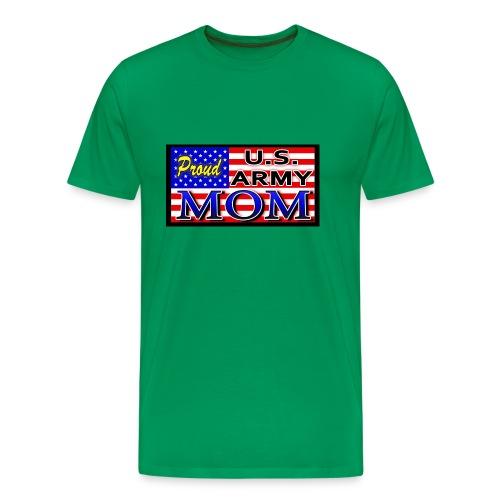 Proud Army mom - Men's Premium T-Shirt