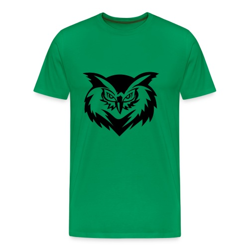 Morose Owl of Wisdom - Men's Premium T-Shirt