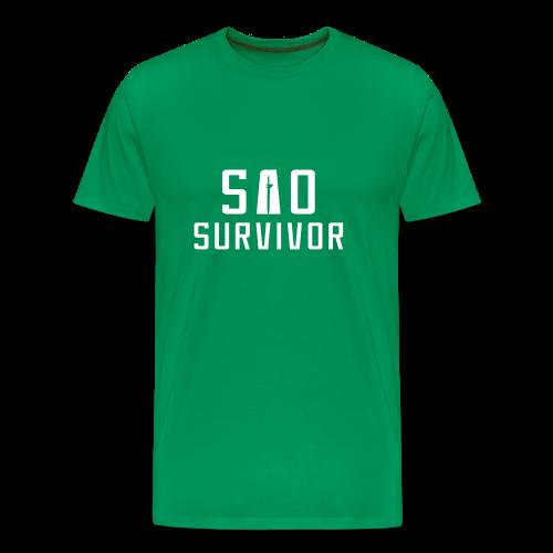 SAO Survivor - Men's Premium T-Shirt