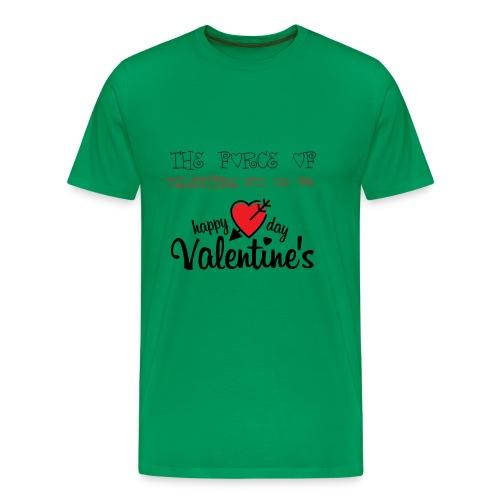 valentines - Men's Premium T-Shirt