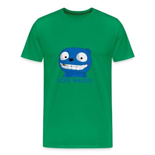 Vote Waldo - Men's Premium T-Shirt