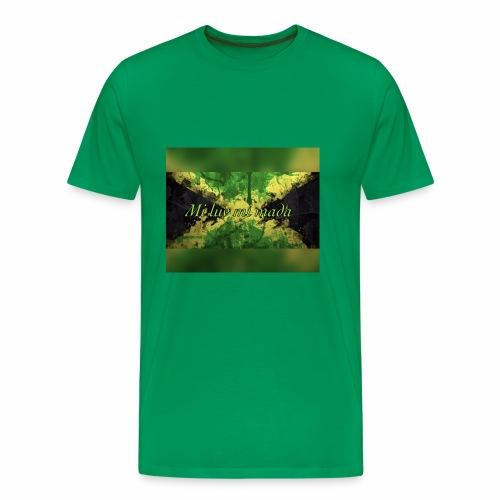 Mi luv mi mada - Men's Premium T-Shirt