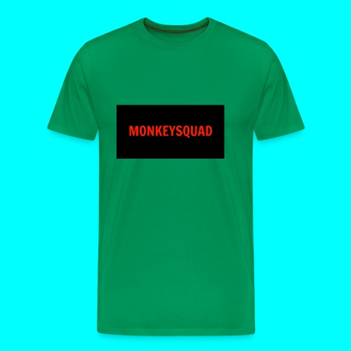 MonkeySquad logo - Men's Premium T-Shirt