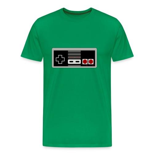 Retro Gaming Controller - Men's Premium T-Shirt
