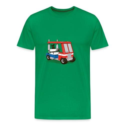 optimus golf cart - Men's Premium T-Shirt