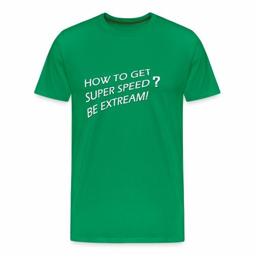 Super Speed Green - Men's Premium T-Shirt