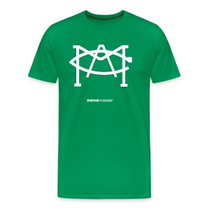 MACLOGOwhite - Men's Premium T-Shirt
