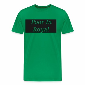 Poor In Royal Shirts - Men's Premium T-Shirt