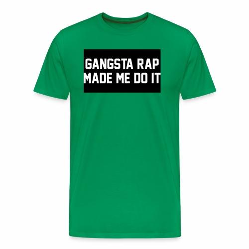 Gansta Rap - Men's Premium T-Shirt