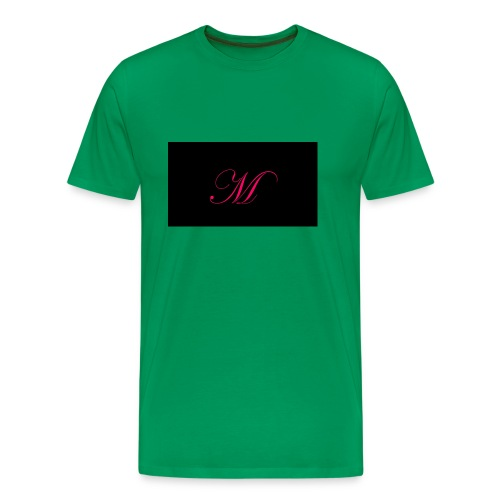 EDWARDIAN M MONOGRAM - Men's Premium T-Shirt