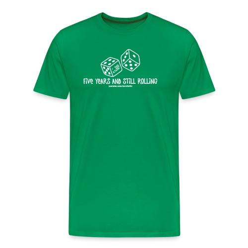 5 YEARS ROLLIN - Men's Premium T-Shirt