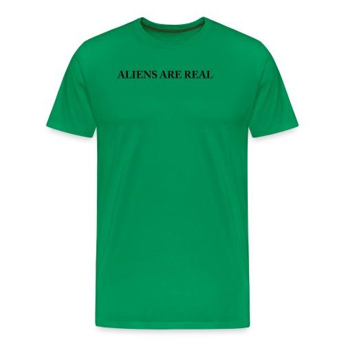 Aliens are Real - Men's Premium T-Shirt