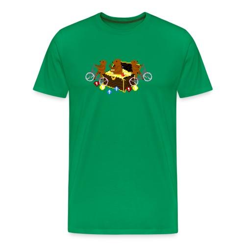 Bear Chest Seal - Men's Premium T-Shirt