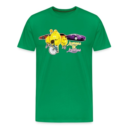 Bad Lemons to Lambos - Men's Premium T-Shirt