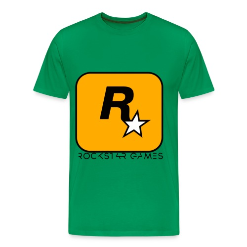 Custom Rockstar Logo - Men's Premium T-Shirt