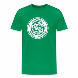 Hawaii Irish Dance Logo Distressed - Men's Premium T-Shirt