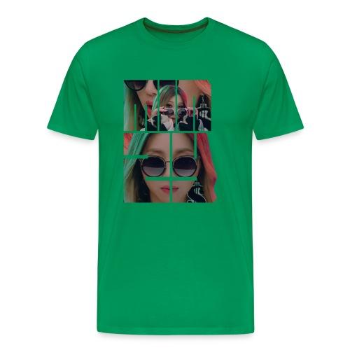 Minzy Ninano Block Letter - Men's Premium T-Shirt