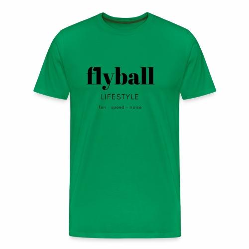 Flyball Lifestyle - Men's Premium T-Shirt