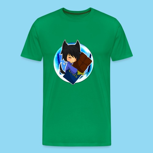 Dego Neko Chocolate - Men's Premium T-Shirt