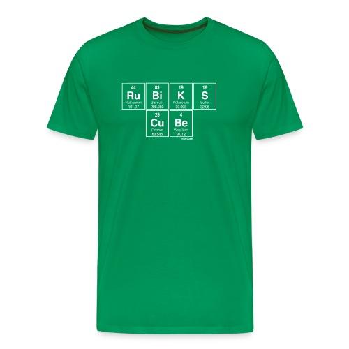 Periodic Table of the Cube - Men's Premium T-Shirt